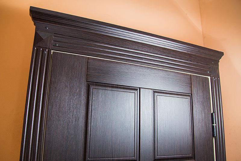 Как сделать обрамление для дверей 147